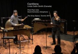 Cantilena by Linda Catlin Smith