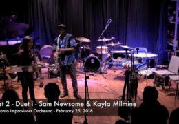 Duet 1 – Sam Newsome & The TIO